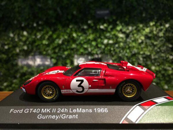 Ford GT40MK II 24 Hrs Le Mans 1966 Gurney / Grant Rood 1-43 CMR Models