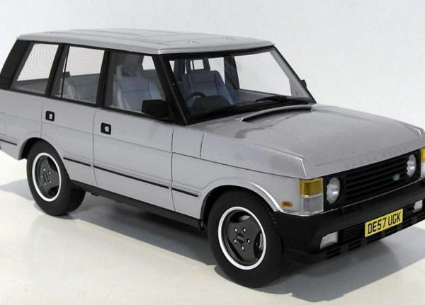Land Rover Range Rover 1986 Zilver 1-18 LS Collectibles Limited Edition