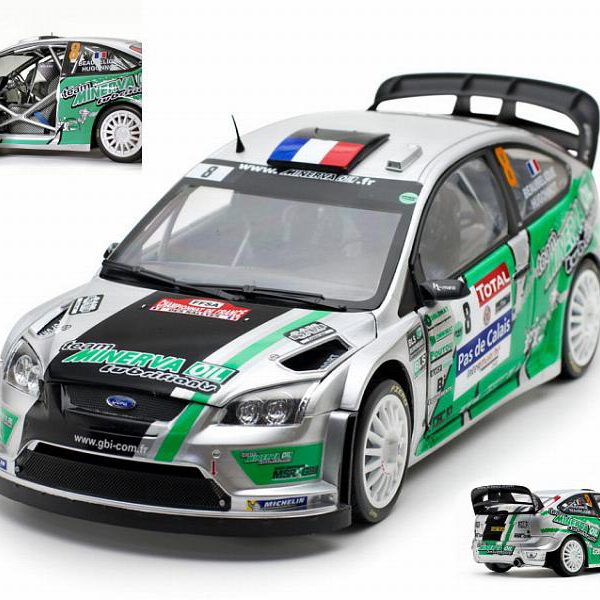 Ford Focus RS WRC 2012 No.8, Rally du Touquet Beaubeque/Hugonnot 1-18 Sun Star