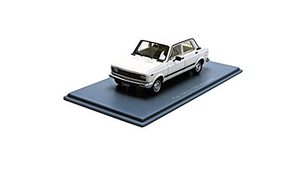 Fiat Nuova 128 MK2 Sport Masad 1982 Wit 1-43 Neo Scale Models