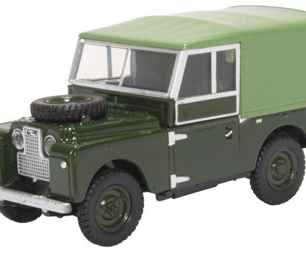 Land Rover Series I 88 Cancas Bronze Green 1-43 Oxford