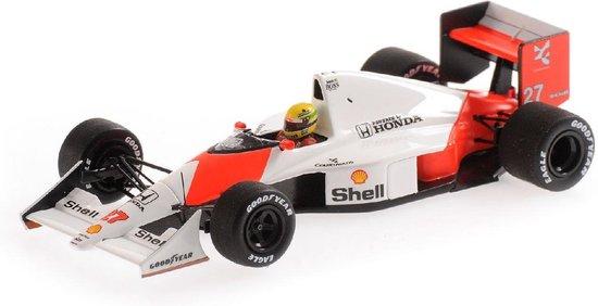 McLaren Honda MP4/5B #27 Ayrton Senna Winner Canadian GP 1990 Minichamps 1-43