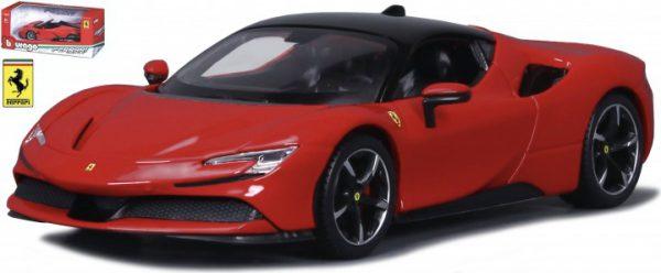 Ferrari SF90 Stradale 2019 Rood 1-24 Burago