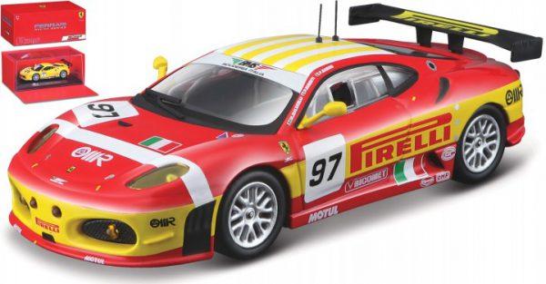 Ferrari F430 GT2 #97 24 Hrs Le Mans 2008 F.Babini / M.Malucelli / P.Ruberti 1-43 Burago Racing Series