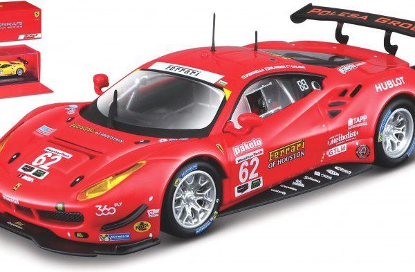 Ferrari 488 GTE #62 24 Hrs Daytona 2017 G.Fisichella / T.Vilander / J.Calado 1-43 Burago Racing Series