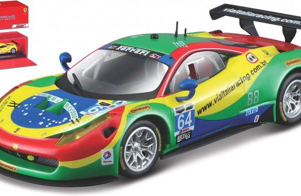 Ferrari 458 Italia GT3 #64 24 Hrs Daytona 2015 A.Bartolini / F.Longo / D.Sarra / M.Gomes 1-43 Burago Racing Series