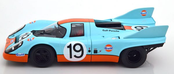 """Porsche 917K No.19, 24Hrs Le Mans 1971 """"Gulf"""" Attwood/Redman 1-18 CMR Models"""