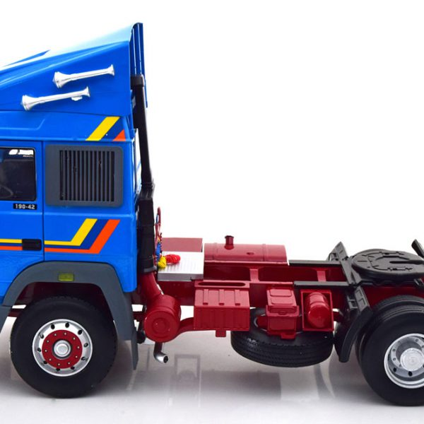Iveco Turbo Star 1988 Blauw 1-18 Road kings Limited 400 Pieces