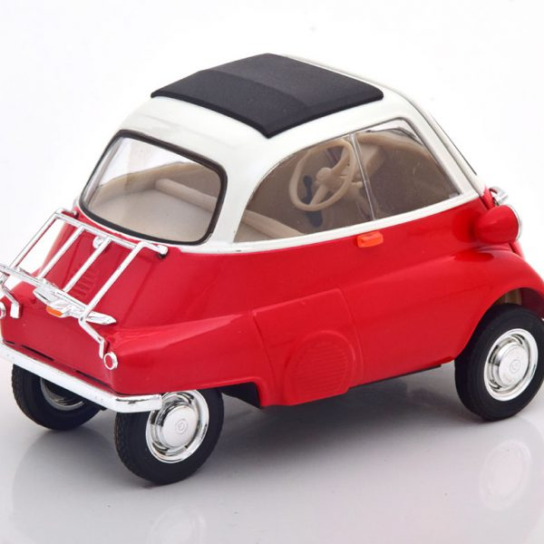 BMW Isetta 1959 Rood / Wit 1-18 Welly