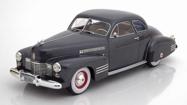 Cadillac Series 62 Club Coupe 1941 Grijs Metallic 1-18 BOS Models Limited 504 Pieces