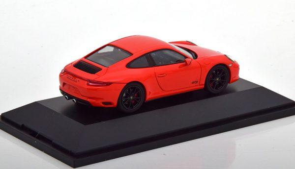 Porsche 911 (991/2) Carrera 4 GTS Coupe 2017 Orange 1-43 Herpa