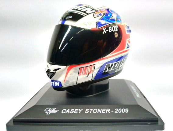 "Helm Moto GP 2009 ""Philip Island"" Casey Stoner 1-5 Altaya"