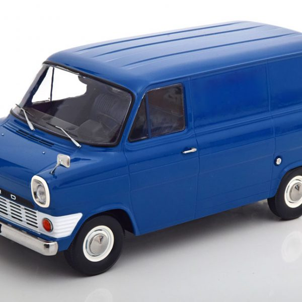 Ford Transit MK1 Bus 1965 Blauw 1-18 KK Scale Limited 750 Pieces