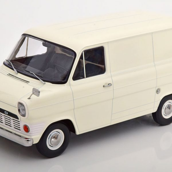 Ford Transit MK1 Bus 1965 Creme 1-18 KK Scale Limited 500 Pieces