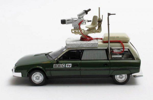 Citroen CX Safari BBC TV Camera Car 1982 Groen 1-43 Matrix Scale Models Limited 408 pcs.