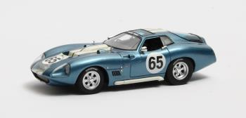 Shelby Cobra Daytona Type 65 #65 1965 Blauw metallic 1-43 Matrix Scale Models Limited 408 pcs.