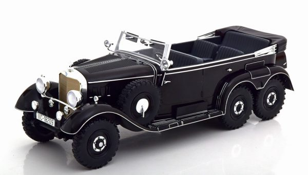 Mercedes-Benz G4 ( W131 ) 1938 Zwart 1-18 MCG Models