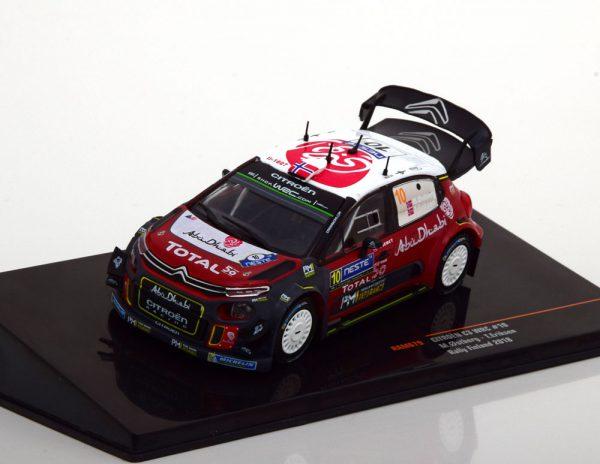 Citroen C3 WRC No.10, Rally Finland 2018 Ostberg/Eriksen 1-43 Ixo Models