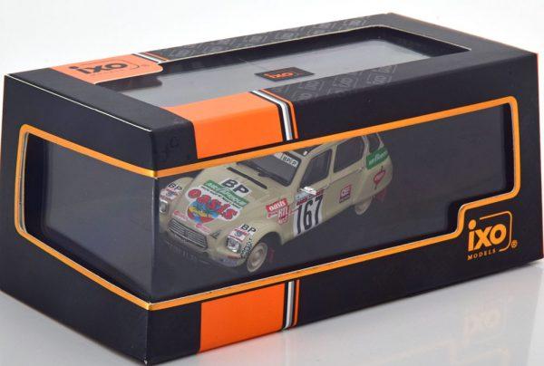 Citroen Dyane No.167, Rally Paris-Dakar 1979 Sandron/Alberto 1-43 Ixo Models