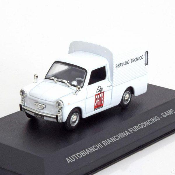 "Autobianchi ""Bianchina Furgoncino Same"" 1970 Wit 1-43 Altaya"