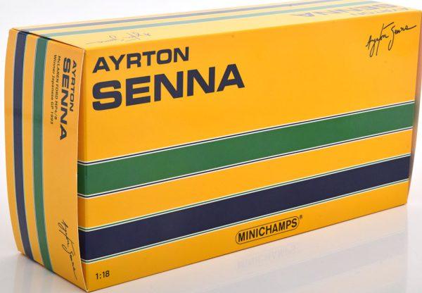 McLaren Ford MP 4/8 Winner GP Japan 1993 Ayrton Senna 1-18 Minichamps