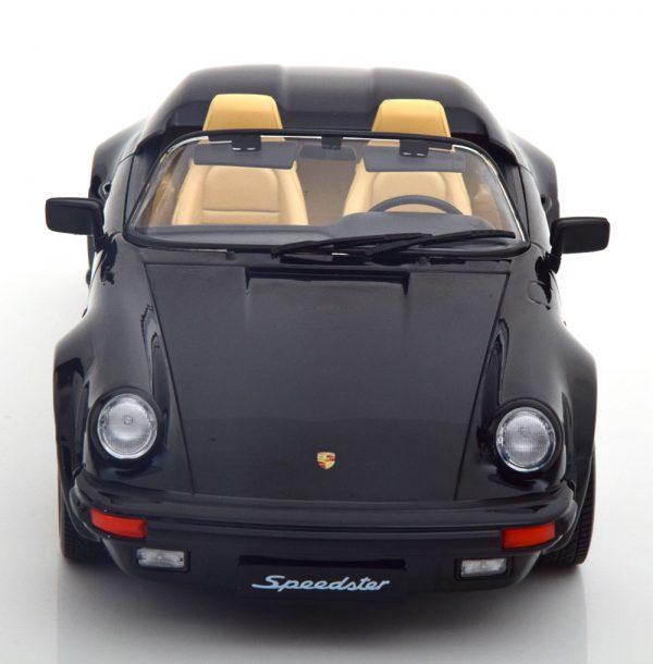 Porsche 911 Speedster 1989 Zwart 1-18 KK Scale Limited 750 Pieces