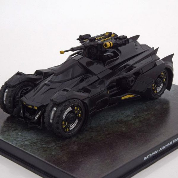 Batman Arkham Knight Video Game inclusief kunststofvitrine 1-43 Altaya Batman Collection