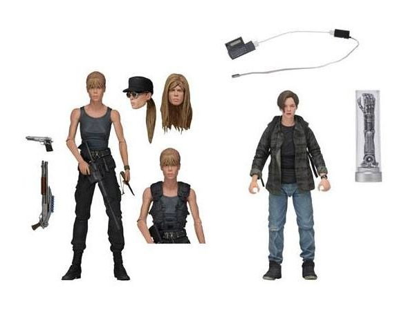 "Terminator 2: Judgment Day ""The Battle for tomorrow has begun..."" Sarah & John Conner 7 inch/17,75 cm Neca"