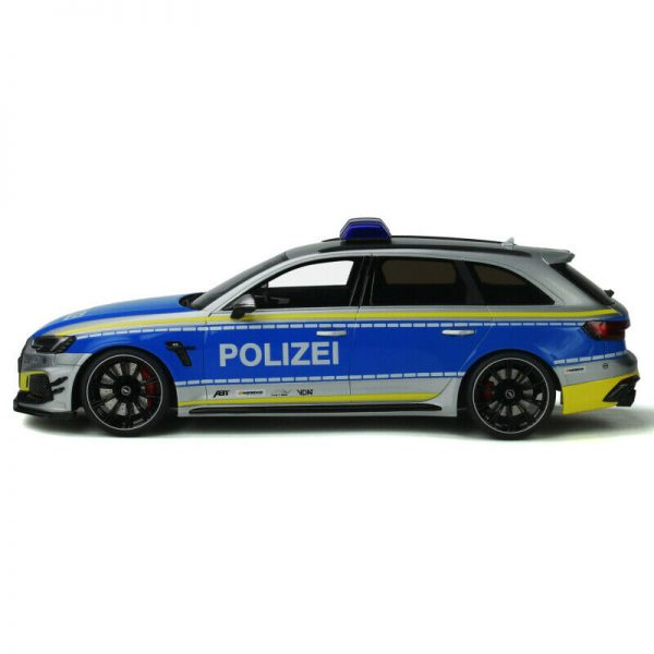 Audi RS4-R ABT Avant 2020 Polizei 1/18 GT Spirit Limited 999 Pieces
