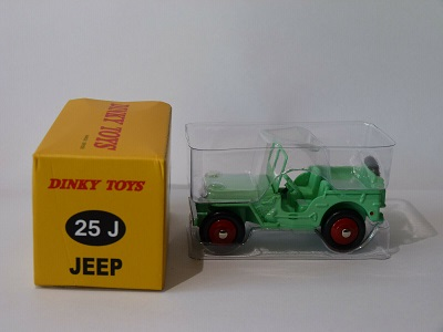 Jeep Version Civile 1/43 Dinky Toys ( Atlas )