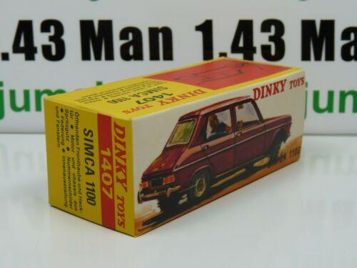 Simca 1100 Zilver 1-43 Dinky Toys ( Atlas )