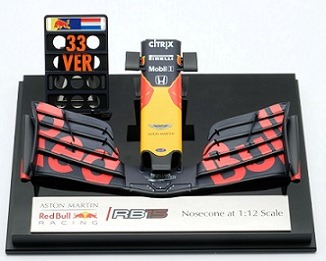 Aston Martin Red Bull Racing RB15 Front Nose Max Verstappen 1-12 Amalgam Limited Edition