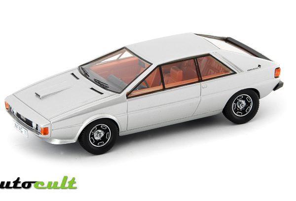 Audi Asso di Picche,1973 Zilver 1:43 AutoCult Limited 333 Pieces