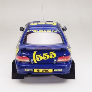 Subaru Impreza 555 #1 Winner Rallye Catalunya 1996 M.Colin / R.Derek 1-18 Sun Star Limited 998 Pieces