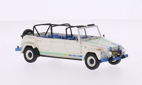 "Volkswagen ""the THING"" Limousine 1979 Wit 1-43 Matrix Scale Models Limited 400 pcs."