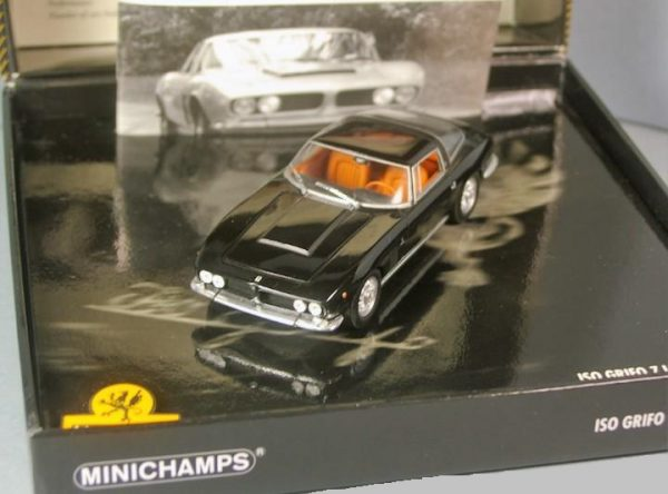 Iso Grifo 7 Litri 1968 Zwart 1-43 Minichamps Limited 3333 Pieces