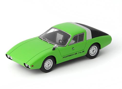Porsche 911 HLS Prototype 1964 Groen 1/43 Autocult Limited 333 Pieces