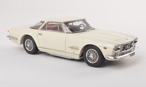 Maserati 5000 GT Allemano 1960 Wit 1-43 Neo Scale Models