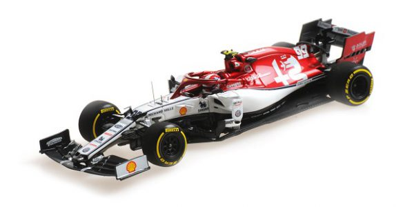 Alfa Romeo C38 Racing Monaco GP 2019 Antonio Giovinazzi 1-43 Minichamps Limited 150 Pieces