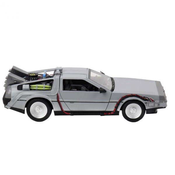 Time Machine Back to The Future with working doors 1-16 Neca