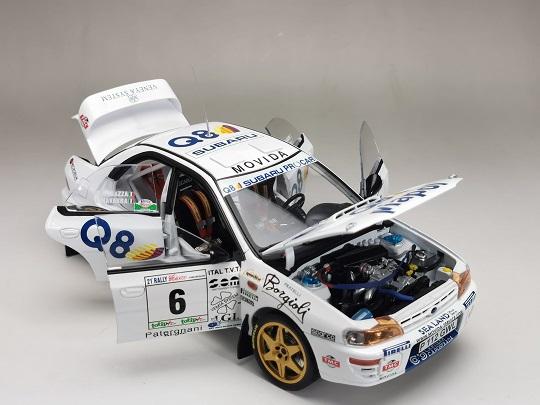Subaru Impreza 555 #6 Winner Rallye II Ciocco 1998 N.Andrea / C.Renzo 1-18 Sun Star Limited 998 Pieces