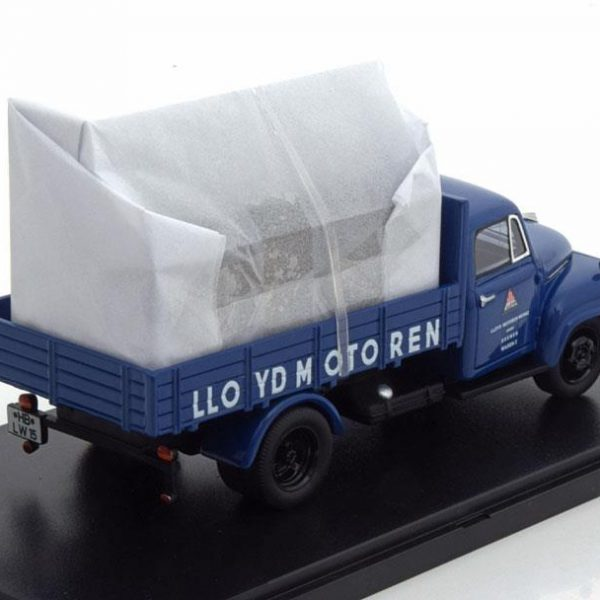 "Borgward B 1500 Pick Up 1955 ""Lloyd Motoren"" Blauw 1-43 Autocult Limited 333 Pieces ( Resin )"