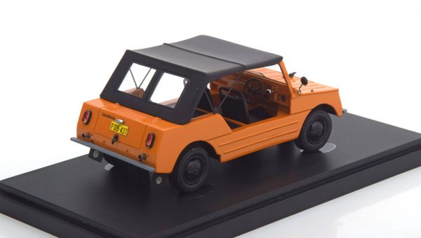 Volkswagen Country Buggy 1967 Oranje / Zwart 1-43 Autocult Limited 333 Pieces ( Resin )