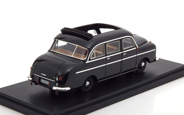 Borgward B 1250 Pollmann 1951 Zwart 1-43 Autocult Limited 333 Pieces
