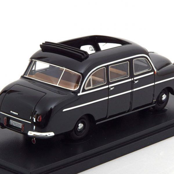 Borgward B 1250 Pollmann 1951 Zwart 1-43 Autocult Limited 333 Pieces