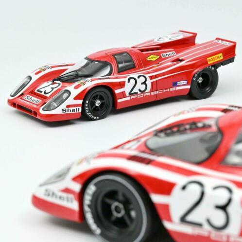 Porsche 917K Winner 24Hrs 1970 Herrmann / Attwood Rood 1-18 Norev