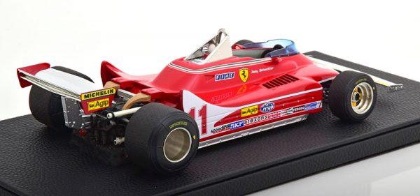Ferrari 312 T4 GP Monza 1979 World Champion Jody Scheckter 1-18 GP Replicas Limited 250 Pieces