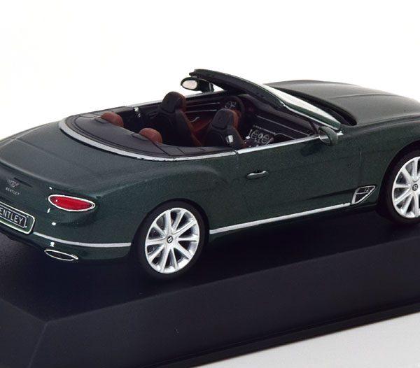 Bentley Continental GT Convertible 2019 1-43 Verdant Metallic Norev