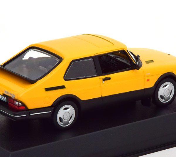 Saab 900 Turbo 1992 Geel 1-43 Norev