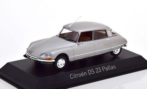 Citroen DS 23 Pallas 1974 Grijs Metallic 1-43 Norev